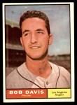 1961 Topps #246  Bob Davis  Front Thumbnail