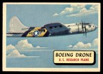 1957 Topps Planes #66 RED  Boeing Drone Front Thumbnail