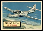 1957 Topps Planes #109 RED  Cessna T-37A Front Thumbnail