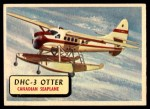 1957 Topps Planes #77 RED  Dhc-3 Otter Front Thumbnail