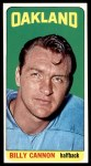 1965 Topps #134  Billy Cannon  Front Thumbnail