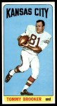 1965 Topps #93  Tommy Brooker  Front Thumbnail