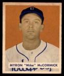 1949 Bowman #146  Mike McCormick  Front Thumbnail