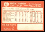 1964 Topps #66  Eddie Fisher  Back Thumbnail
