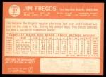 1964 Topps #97  Jim Fregosi  Back Thumbnail