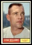 1961 Topps #190  Stan Williams  Front Thumbnail
