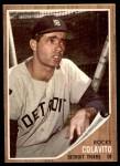 1962 Topps #20  Rocky Colavito  Front Thumbnail