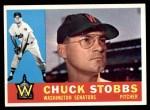 1960 Topps #432  Chuck Stobbs  Front Thumbnail