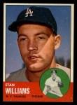 1963 Topps #42  Stan Williams  Front Thumbnail