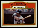 1972 Topps #306   -  Ken Boswell In Action Front Thumbnail