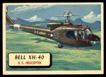 1957 Topps Planes #14 RED  Bell Xh-40 Front Thumbnail