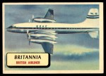 1957 Topps Planes #26 RED  Britannia Front Thumbnail
