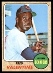 1968 Topps #248  Fred Valentine  Front Thumbnail