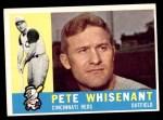 1960 Topps #424  Pete Whisenant  Front Thumbnail