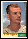 1961 Topps #206  Gene Green  Front Thumbnail