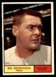 1961 Topps #397  Hal Woodeshick  Front Thumbnail