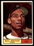 1961 Topps #251  Bill Bruton  Front Thumbnail