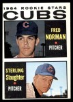 1964 Topps #469   -  Fred Norman / Sterling Slaughter Cubs Rookies Front Thumbnail