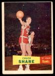 1957 Topps #61  Chuck Share  Front Thumbnail