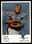 1961 Fleer #170  Dave Smith  Front Thumbnail