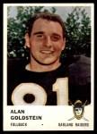 1961 Fleer #195  Alan Goldstein  Front Thumbnail