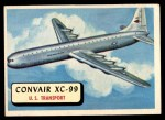 1957 Topps Planes #54 RED  Convair Xc-99 Front Thumbnail