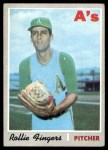 1970 Topps #502  Rollie Fingers  Front Thumbnail