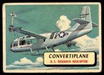 1957 Topps Planes #31 RED  Convertiplane Front Thumbnail