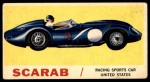 1961 Topps Sports Cars #29   Scarab Front Thumbnail