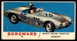 1961 Topps Sports Cars #28   Borgward RS Front Thumbnail