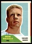 1960 Fleer #132  Ron Beagle  Front Thumbnail