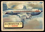 1957 Topps Planes #105 RED  C-124C Globemaster Front Thumbnail