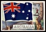 1956 Topps Flags of the World #59   Australia Front Thumbnail