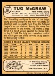 1968 Topps #236  Tug McGraw  Back Thumbnail