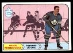 1968 Topps #125  Marcel Pronovost  Front Thumbnail