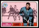1968 Topps #102  Earl Ingarfield  Front Thumbnail