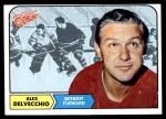 1968 Topps #28  Alex Delvecchio  Front Thumbnail