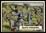 1962 Topps Civil War News #32   Death Struggle Front Thumbnail
