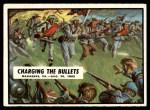 1962 Topps Civil War News #30   Charging the Bullets Front Thumbnail