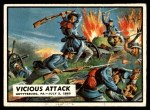 1962 Topps Civil War News #46   Vicious Attack Front Thumbnail