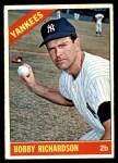1966 Topps #490  Bobby Richardson  Front Thumbnail
