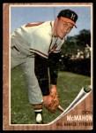 1962 Topps #483  Don McMahon  Front Thumbnail