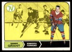 1968 Topps #52  Danny Grant  Front Thumbnail