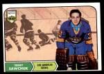 1968 Topps #34  Terry Sawchuk  Front Thumbnail