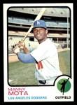 1973 Topps #412  Manny Mota  Front Thumbnail