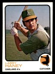 1973 Topps #563  Larry Haney  Front Thumbnail