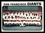 1973 Topps #434   Giants Team Front Thumbnail