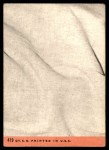 1969 Topps #419   -  Rod Carew All-Star Back Thumbnail