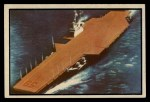 1954 Bowman Power for Peace #89   USS Forrestal Front Thumbnail