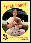 1959 Topps #313  Frank House  Front Thumbnail
